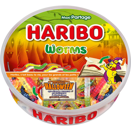 Worms Halloween 700g image number null